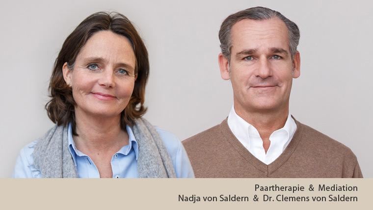 Paartherapie und Mediation in Berin und Potsdam: Portrait von Nadja von Saldern und Dr. Clemens von Saldern